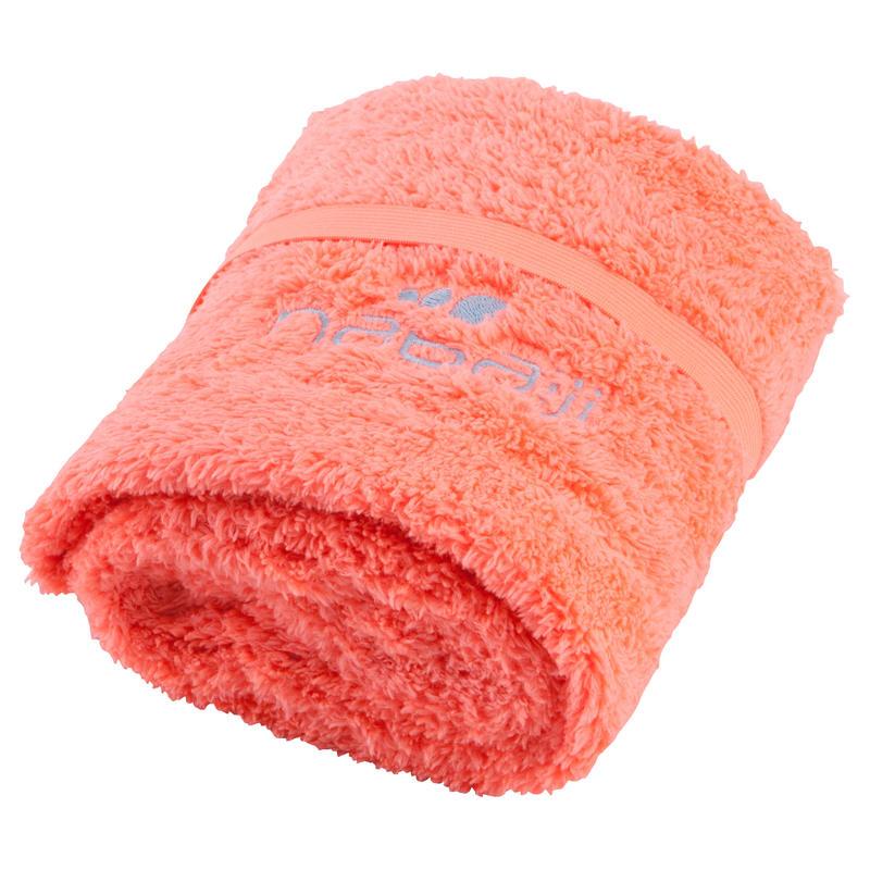 Soft Microfibre Hair Towel - Orange