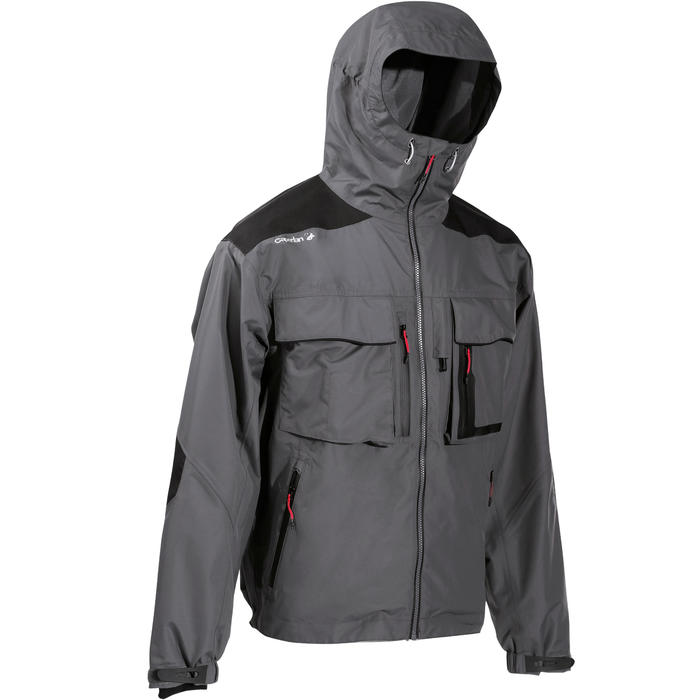 Fishing Rain Jacket -5 grey - 735448