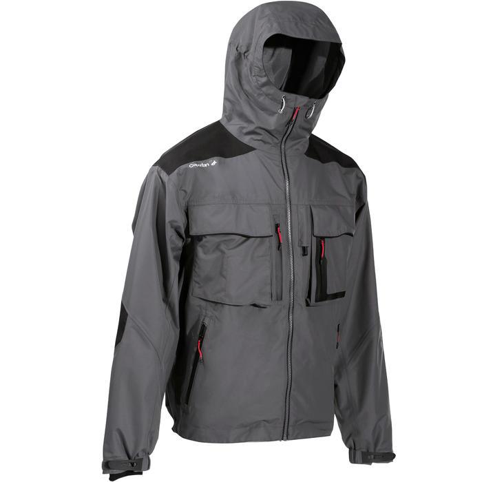 Veste pêche pluie-5 grey - 735448