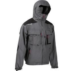 Fishing jacket 500 grey