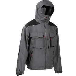 Fishing rain Jacket-5 grey