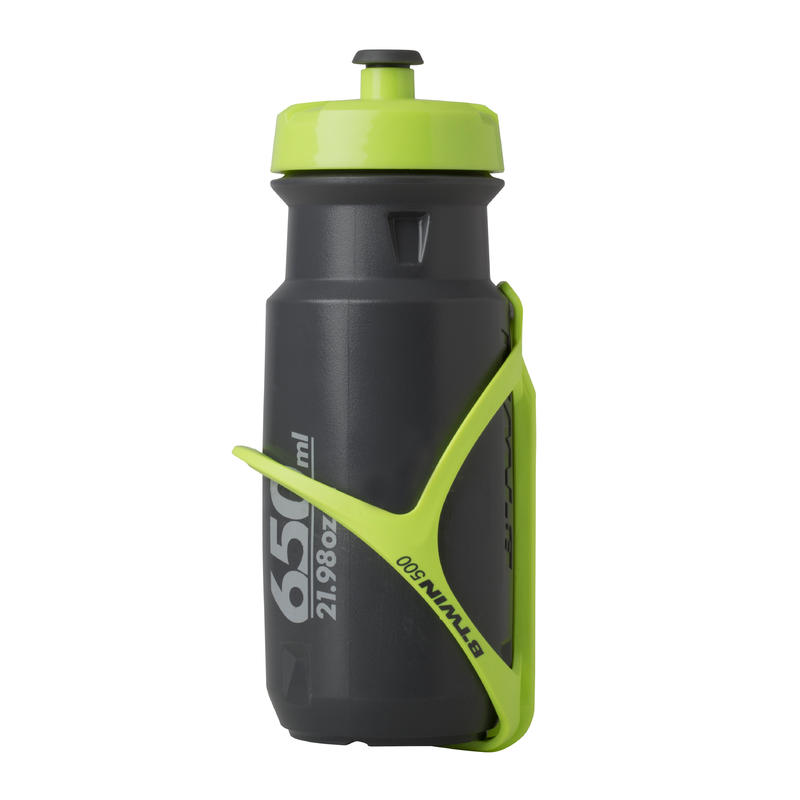 500 Bike Bottle Cage - Neon Yellow