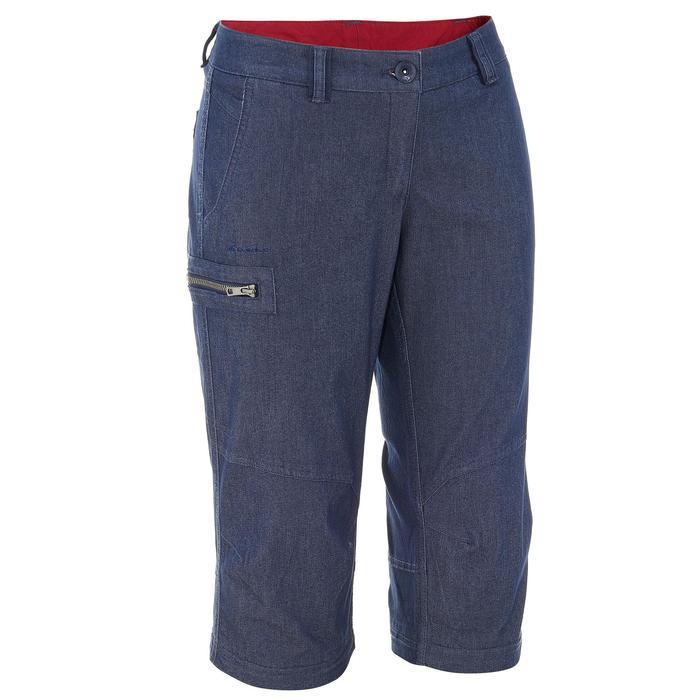 Pantalon modulable Trekking arpenaz 500 Denim femme - 736119