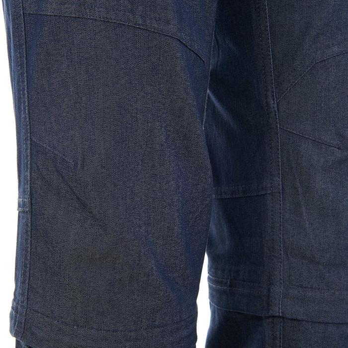 Pantalon modulable Trekking arpenaz 500 Denim femme - 736123