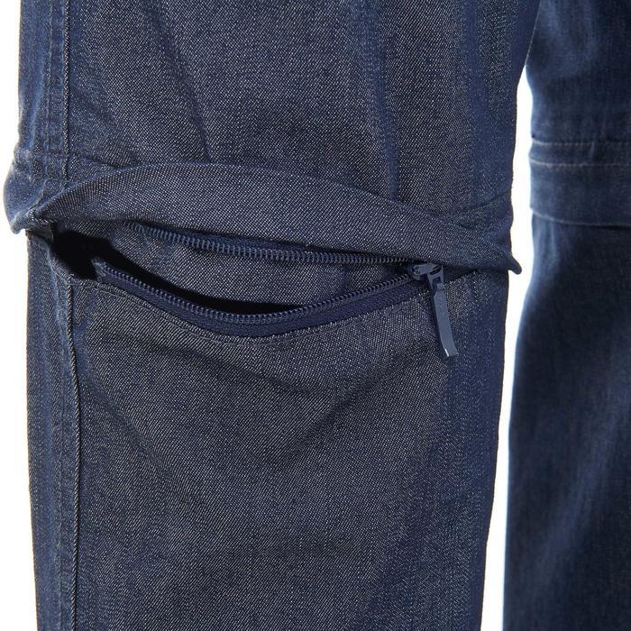 Pantalon modulable Trekking arpenaz 500 Denim femme - 736124