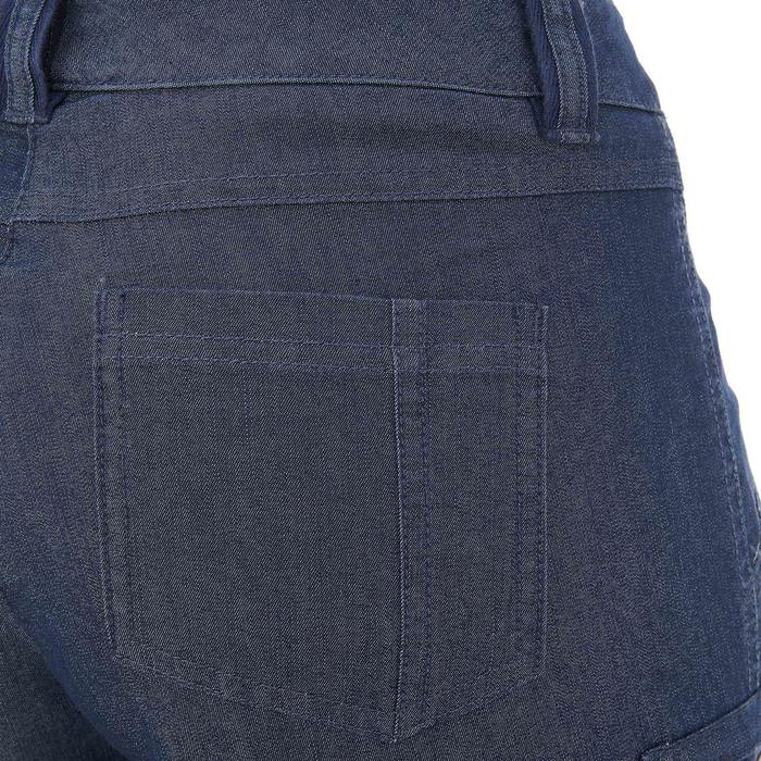 Pantalon modulable Trekking arpenaz 500 Denim femme - 736126