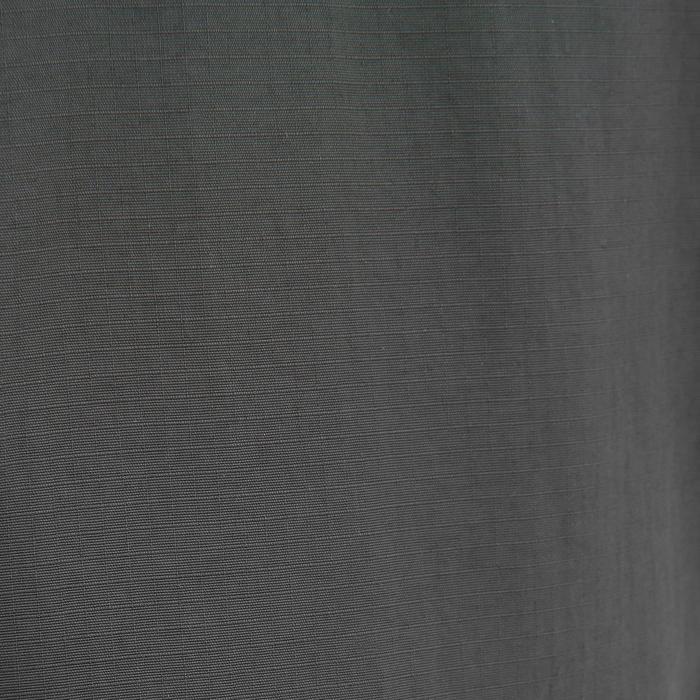 男款登山健行長褲TREK100-深灰色