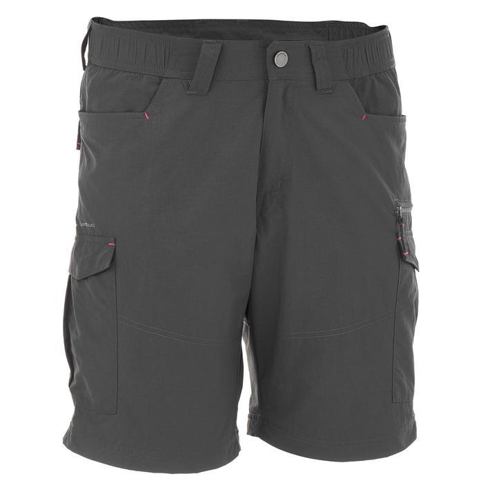 Pantalon modulable trekking montagne TREK 500 homme gris foncé - 736228