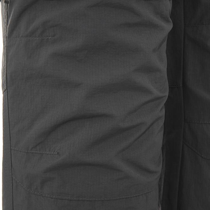 Pantalon modulable trekking montagne TREK 500 homme gris foncé - 736231