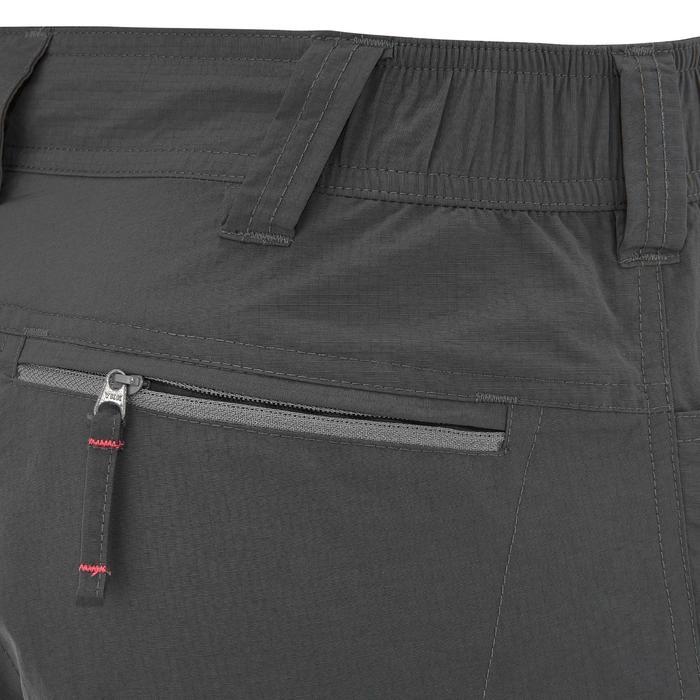 Pantalon modulable trekking montagne TREK 500 homme gris foncé - 736233