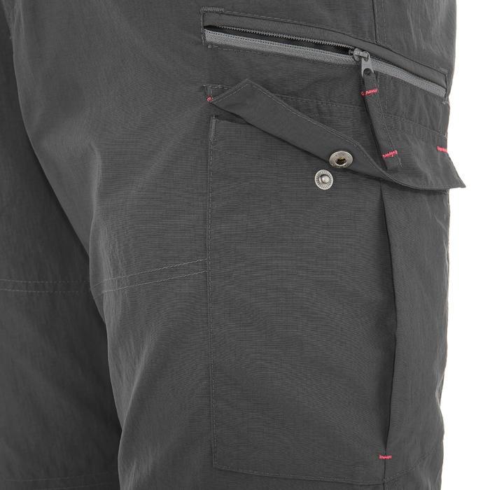 Pantalon modulable trekking montagne TREK 500 homme gris foncé - 736234