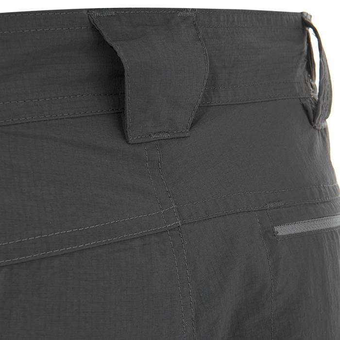 Pantalon modulable trekking montagne TREK 500 homme gris foncé - 736236