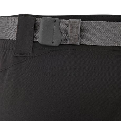 pantalon randonn e forclaz 500 homme noir quechua. Black Bedroom Furniture Sets. Home Design Ideas