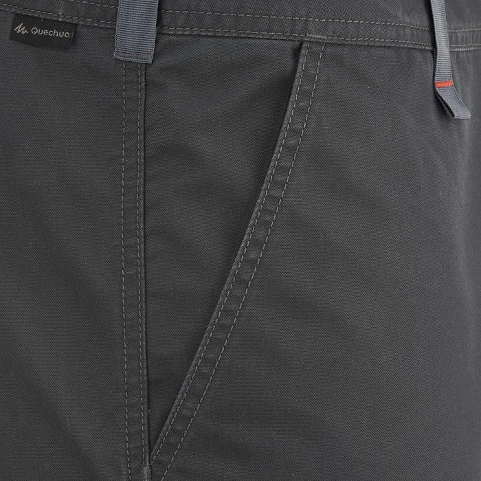 Short randonnée nature homme NH500 gris