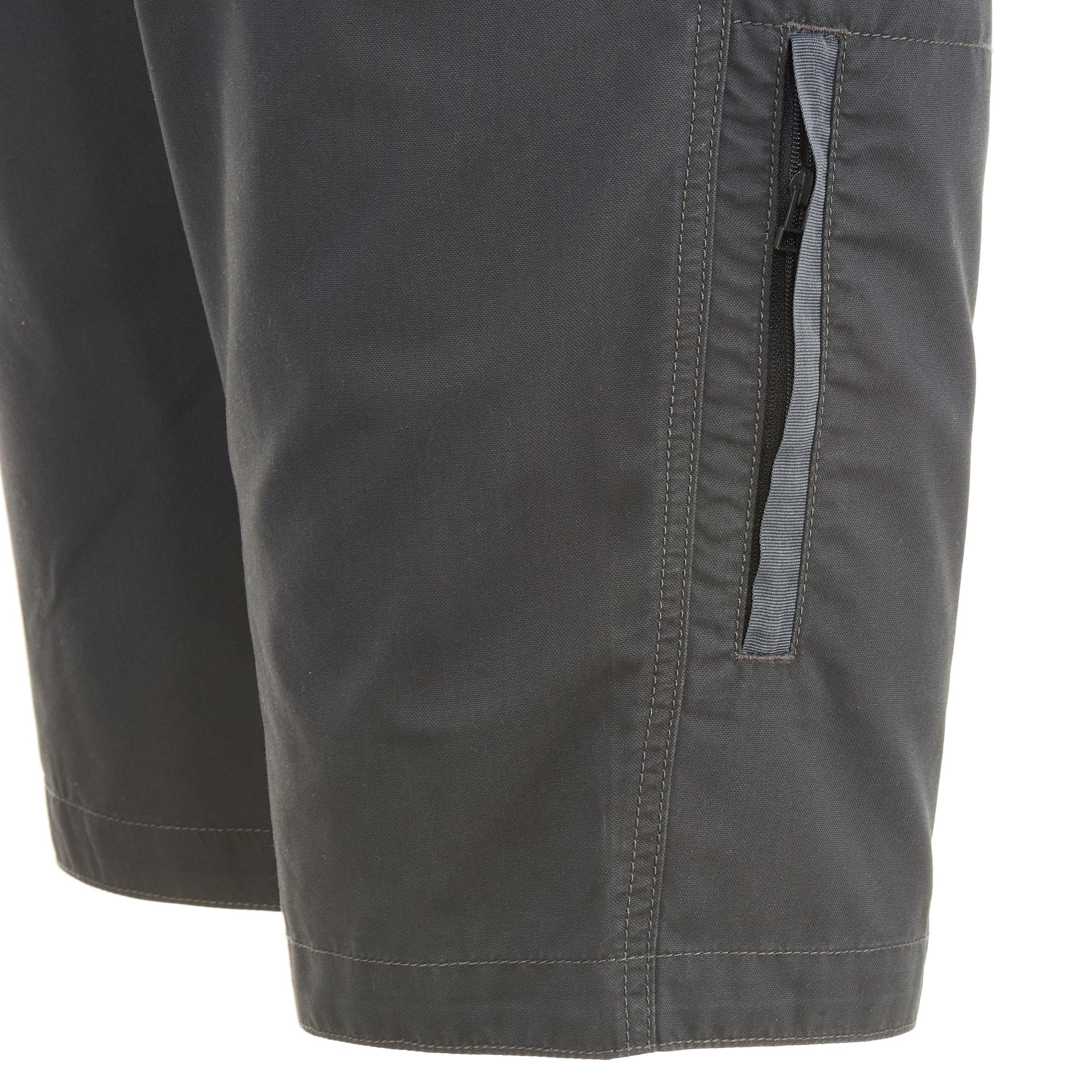 Men's Hiking Shorts NH500 - Grey