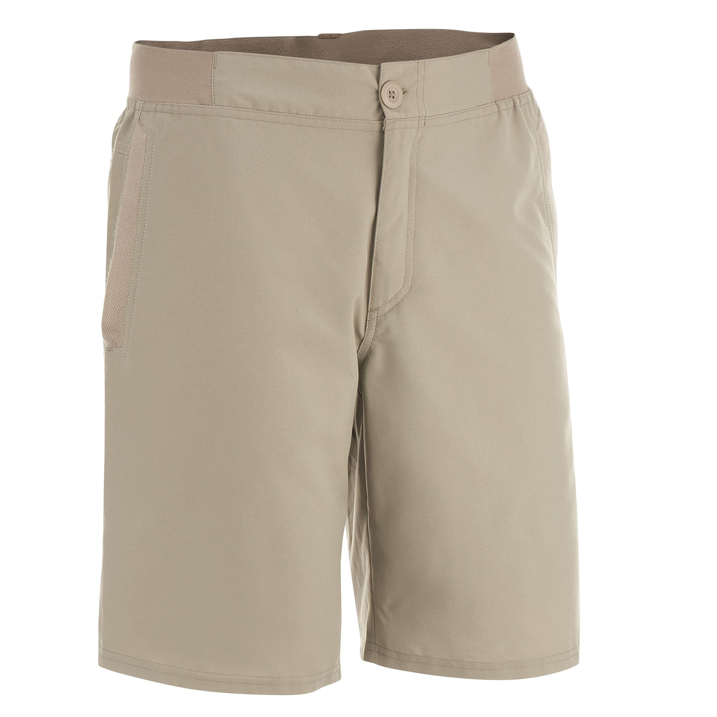 Men's Arpenaz lowland 50 Hiking Shorts Krem