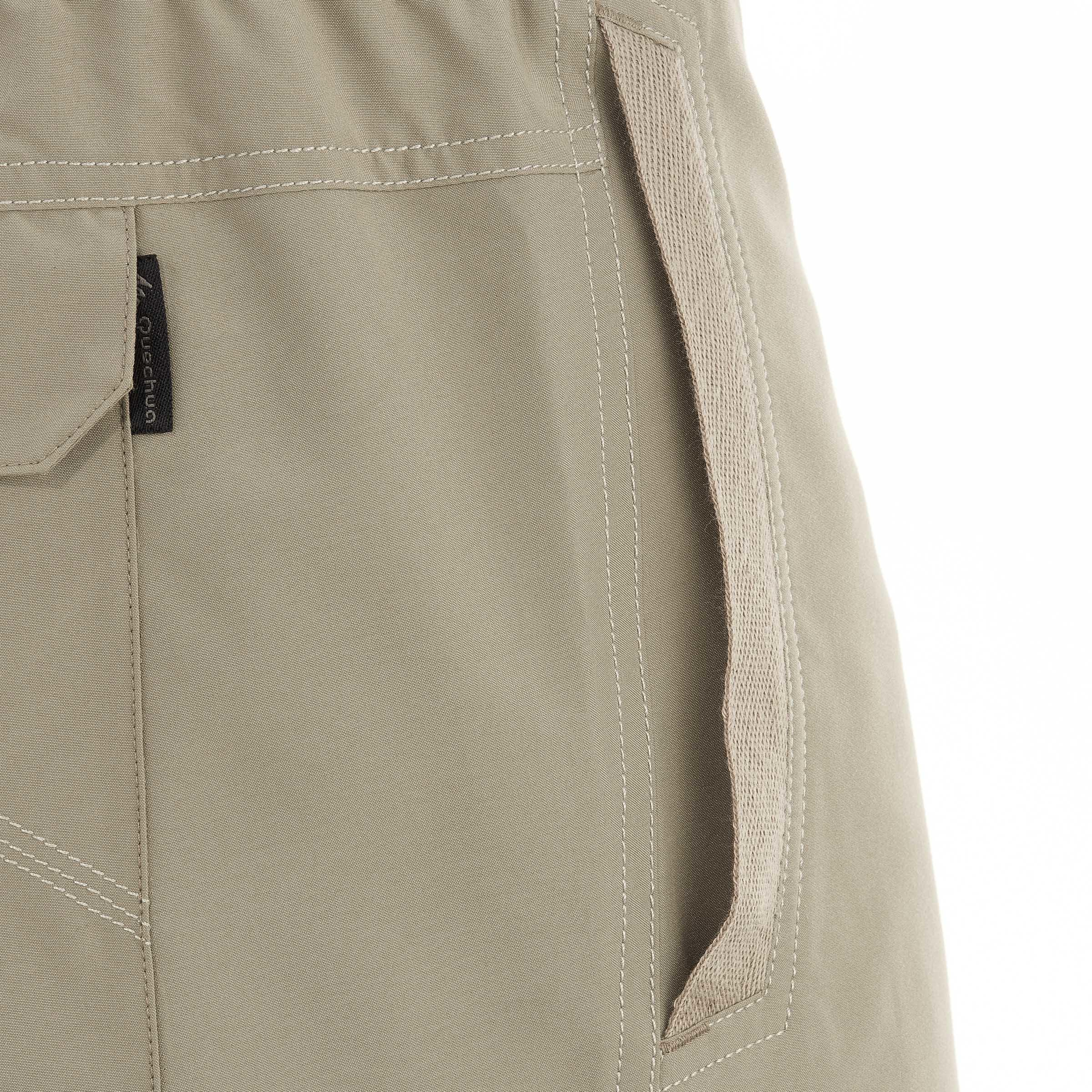 Men's Hiking Shorts NH100 - Beige