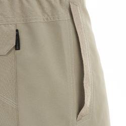 Men's NH100 country walking shorts - Beige