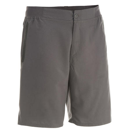 NH100 Men's Nature Walking Shorts - Grey