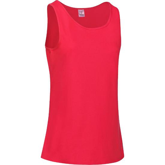 Tanktop gym & pilates dames felroze - 736721