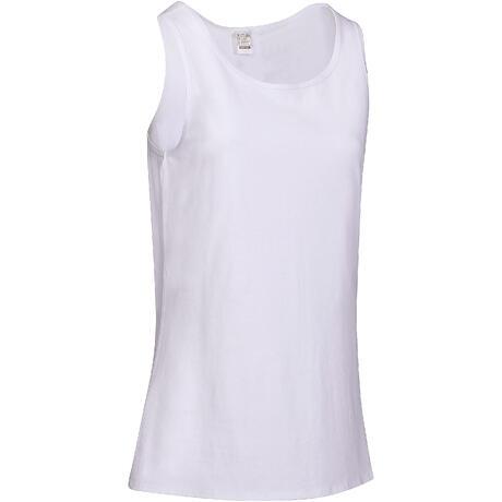 Débardeur 100 Pilates Gym douce femme blanc  3bae3144be1