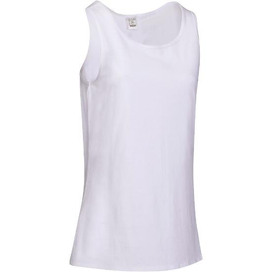 Tanktop gym & pilates dames felroze - 736729