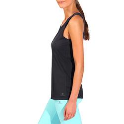 Tanktop gym & pilates dames felroze - 736741