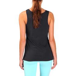 Tanktop gym & pilates dames felroze - 736742