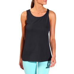 Tanktop gym & pilates dames felroze - 736748