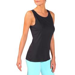 Tanktop gym & pilates dames felroze - 736751