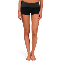 Yogashort in katoen uit biologische teelt, voor dames - 736999