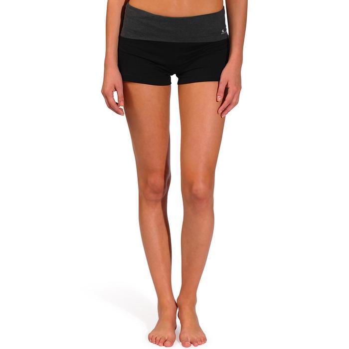 Short yoga doux femme coton issu de l'agriculture biologique - 736999