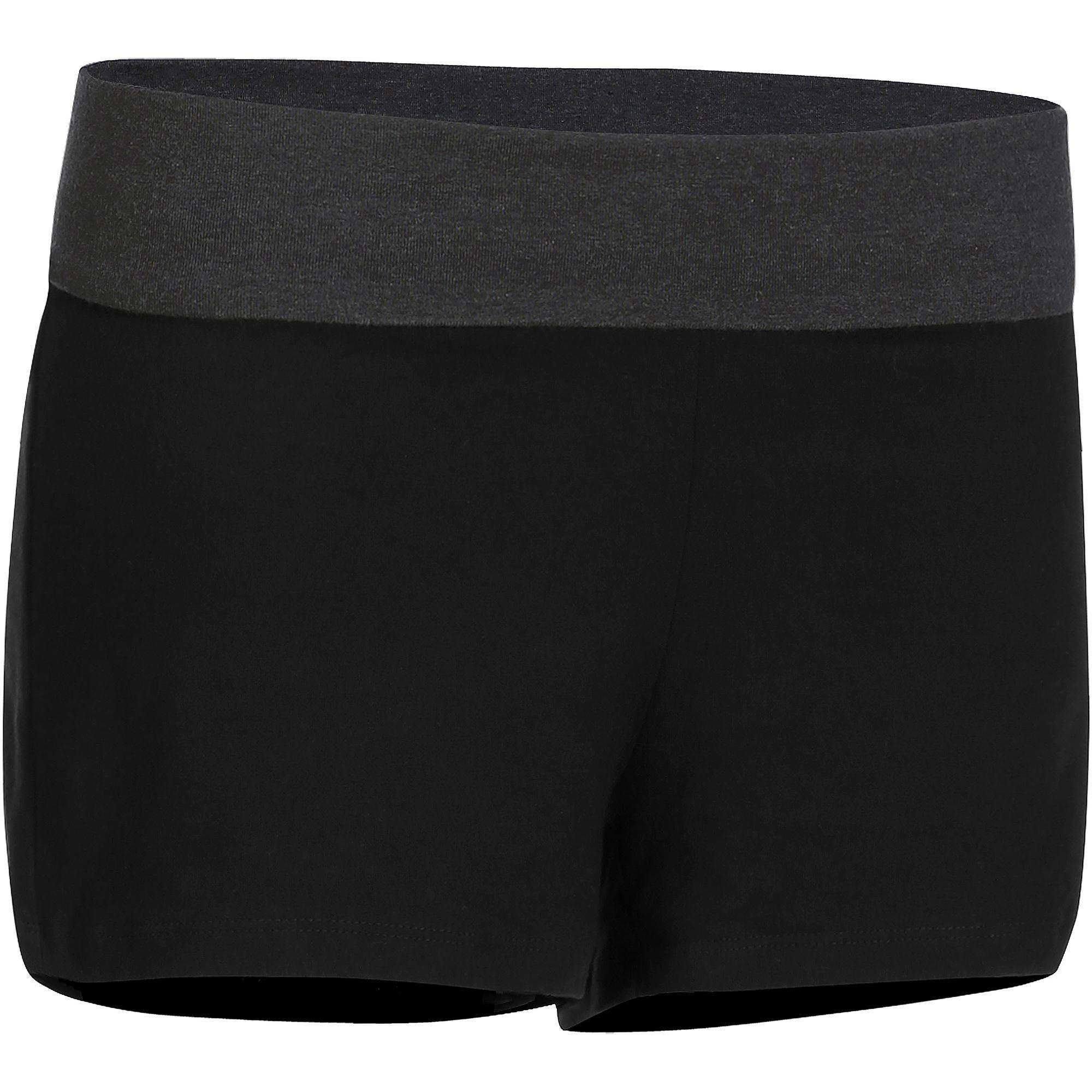 Shorts Feminino De Yoga Domyos
