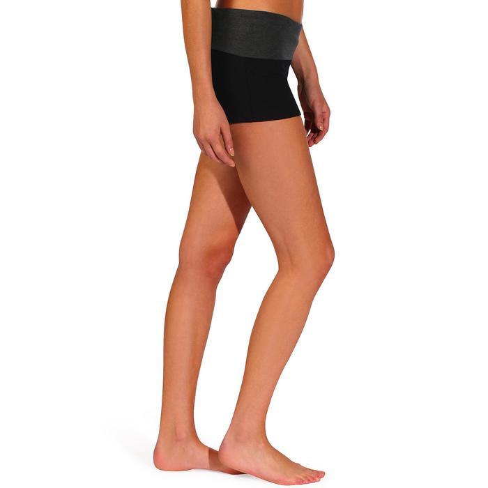 Short yoga doux femme coton issu de l'agriculture biologique - 737001