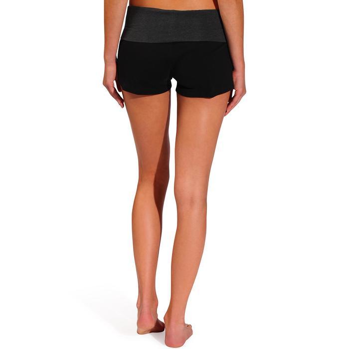 Short yoga doux femme coton issu de l'agriculture biologique - 737002