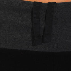 Yogashort in katoen uit biologische teelt, voor dames - 737006