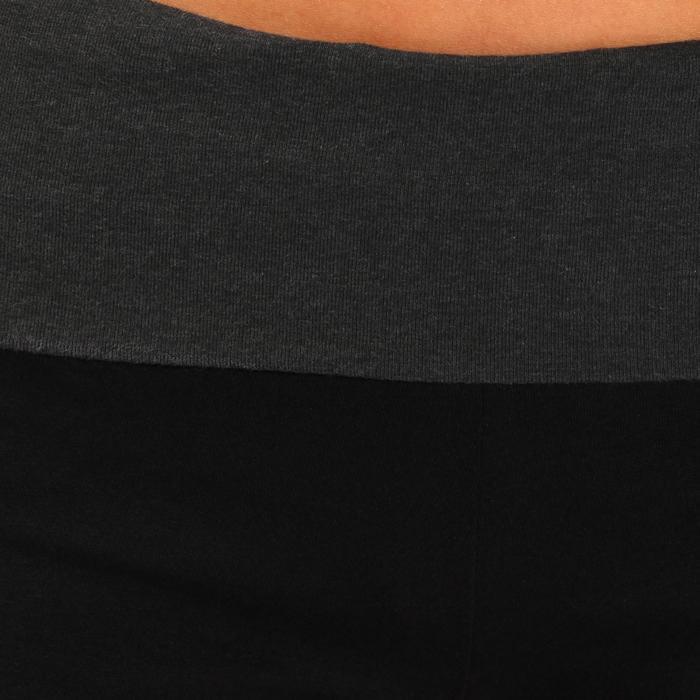 Short yoga doux femme coton issu de l'agriculture biologique - 737007