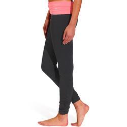 Yogalegging in katoen uit biologische teelt, voor dames - 737016