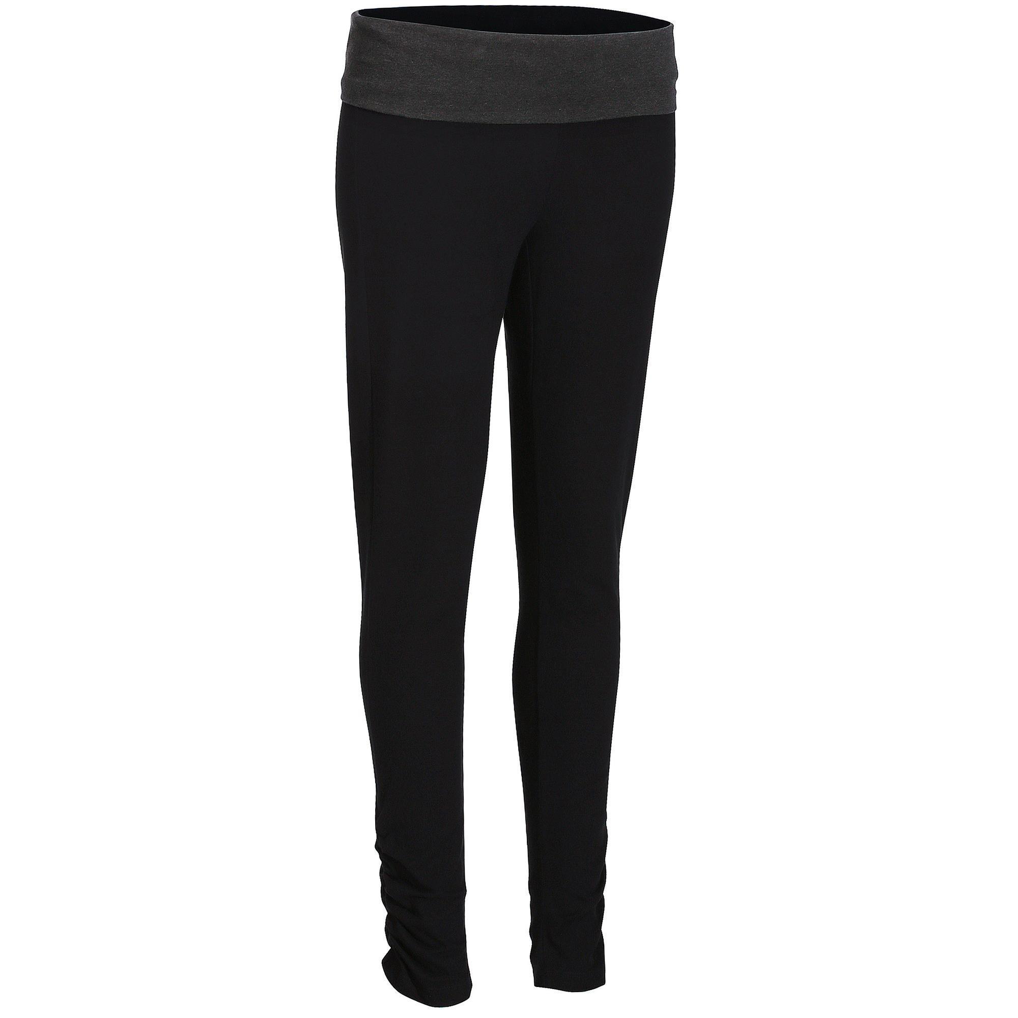 ToBeInStyle Women/'s Seamless Cotton Stretchy Band Yoga Activewear Capri Leggings