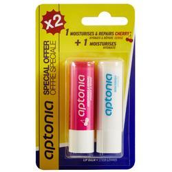 Lippenpflegestift 2er-Pack: feuchtigkeitsspendend und regenerierend