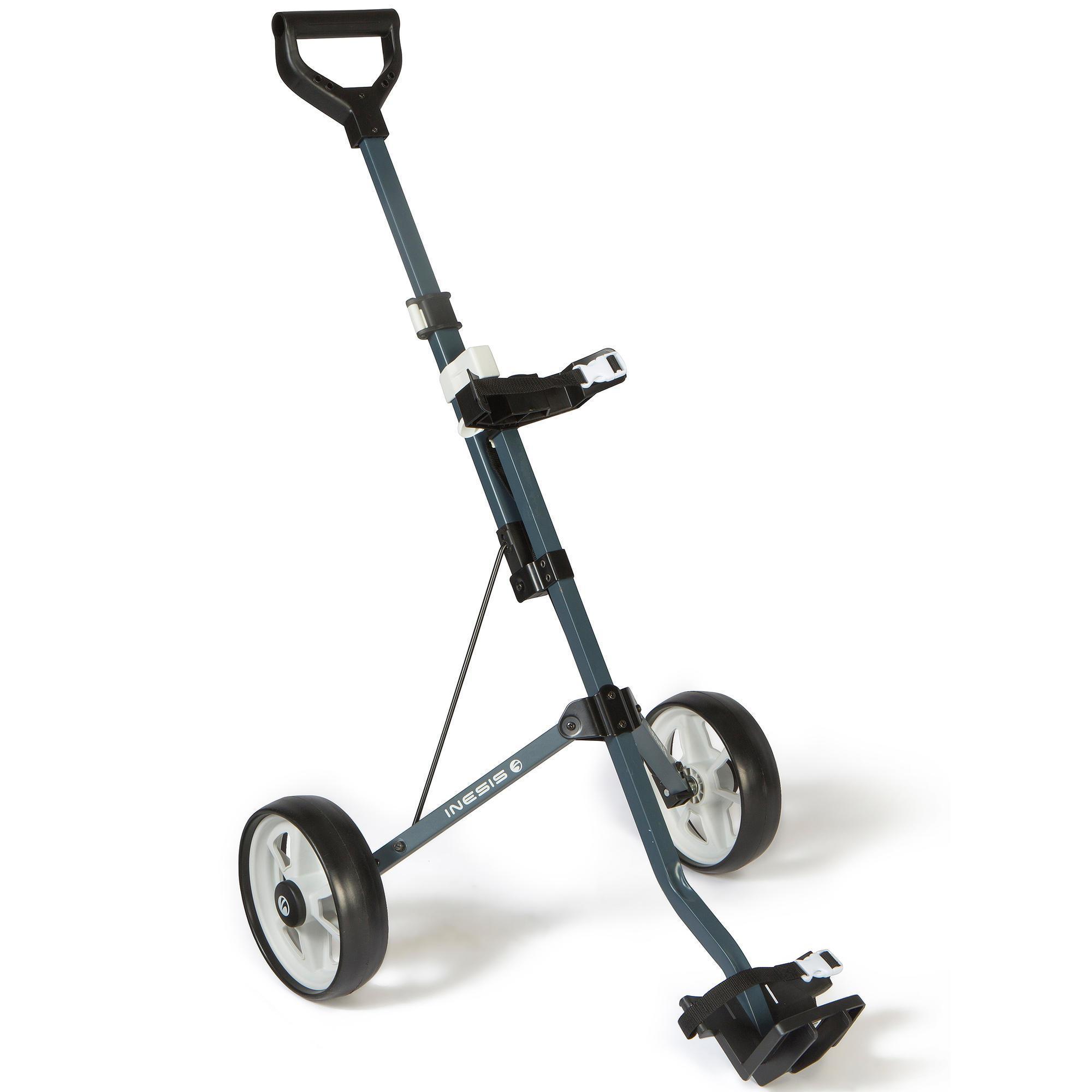 Inesis Tweewiel golftrolley 100 voor kinderen