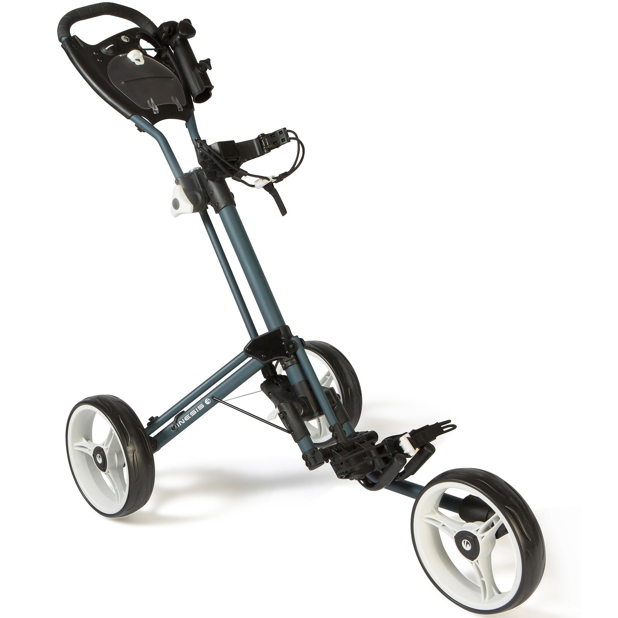chariot de golf 3 roues 900 inesis golf. Black Bedroom Furniture Sets. Home Design Ideas