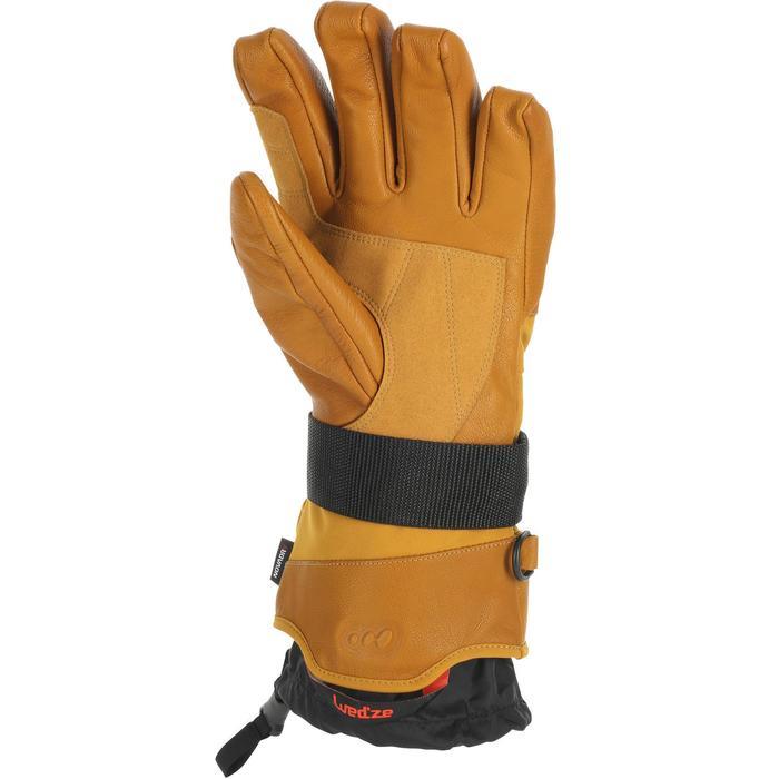 Skihandschoenen FR 900 voor volwassenen bruin