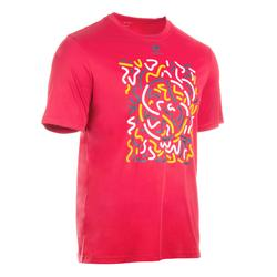Soft 500 Tennis Badminton Table Tennis Padel Squash T-Shirt - Pink