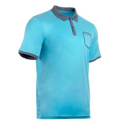 Herenpolo Soft Pocket blauw padel/tennis/badminton/tafeltennis/squash Artengo