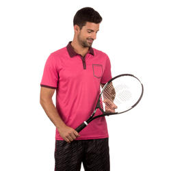 Sportshirt racketsporten Soft Pocket heren - 737873