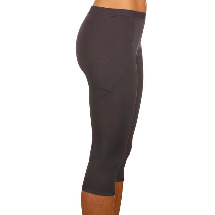 3/4-Leggings Essential 100 Tights Damen grau