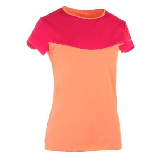 Artengo dames-T-shirt Soft Graph voor tennis, badminton, tafeltennis, padel grn - 738015