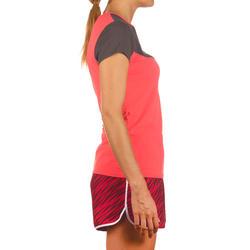 Artengo dames-T-shirt Soft Graph voor tennis, badminton, tafeltennis, padel grn - 738020