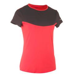 Artengo dames-T-shirt Soft Graph voor tennis, badminton, tafeltennis, padel grn - 738027